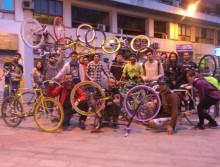 Urban cycling fest