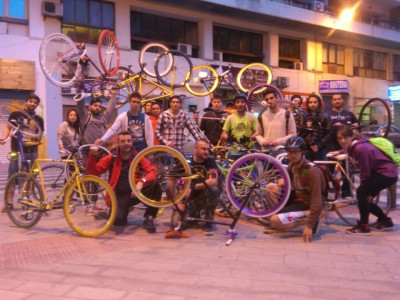 Urban cycling fest
