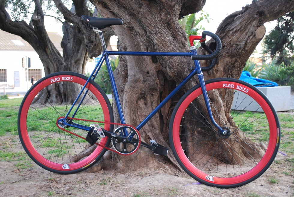 Fixed Gear Metal Azul